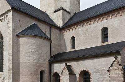Sangerhausen, St. Ulrici. Südl. Querschiff und Chor