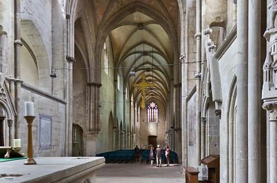 Kloster Schulpforta, Kirche. Blick nach Westen