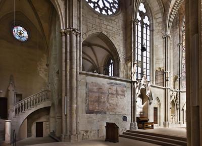 Kloster Schulpforta, Kirche. Chor, Westseite