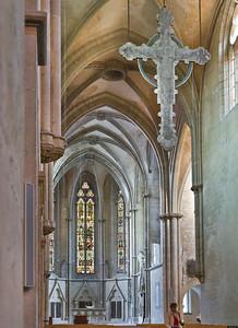 Kloster Schulpforta, Kirche. Blick in Chor nach Südosten