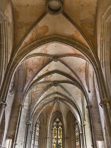 Kloster Schulpforta, Kirche. Chorgewölbe
