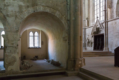 Kloster Schulpforta, Kirche. Seitenkapellen im nördl. Querschiff