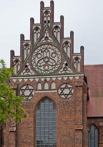 Stendal, Dom St. Nikolaus, Nordseite, Seitenschiffsgiebel
