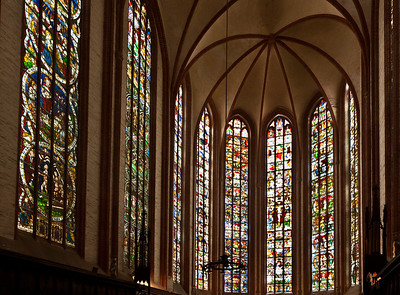 Stendal, Dom St. Nikolaus, Chorfenster