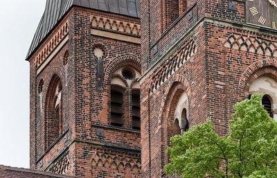 Stendal, Dom St. Nikolaus, Nordseite, Westtürme