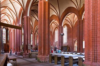Werben, Johanniskirche, Innenraum nach Südost