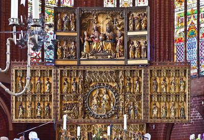Werben, Johanniskirche, Hochaltar (um 1430)