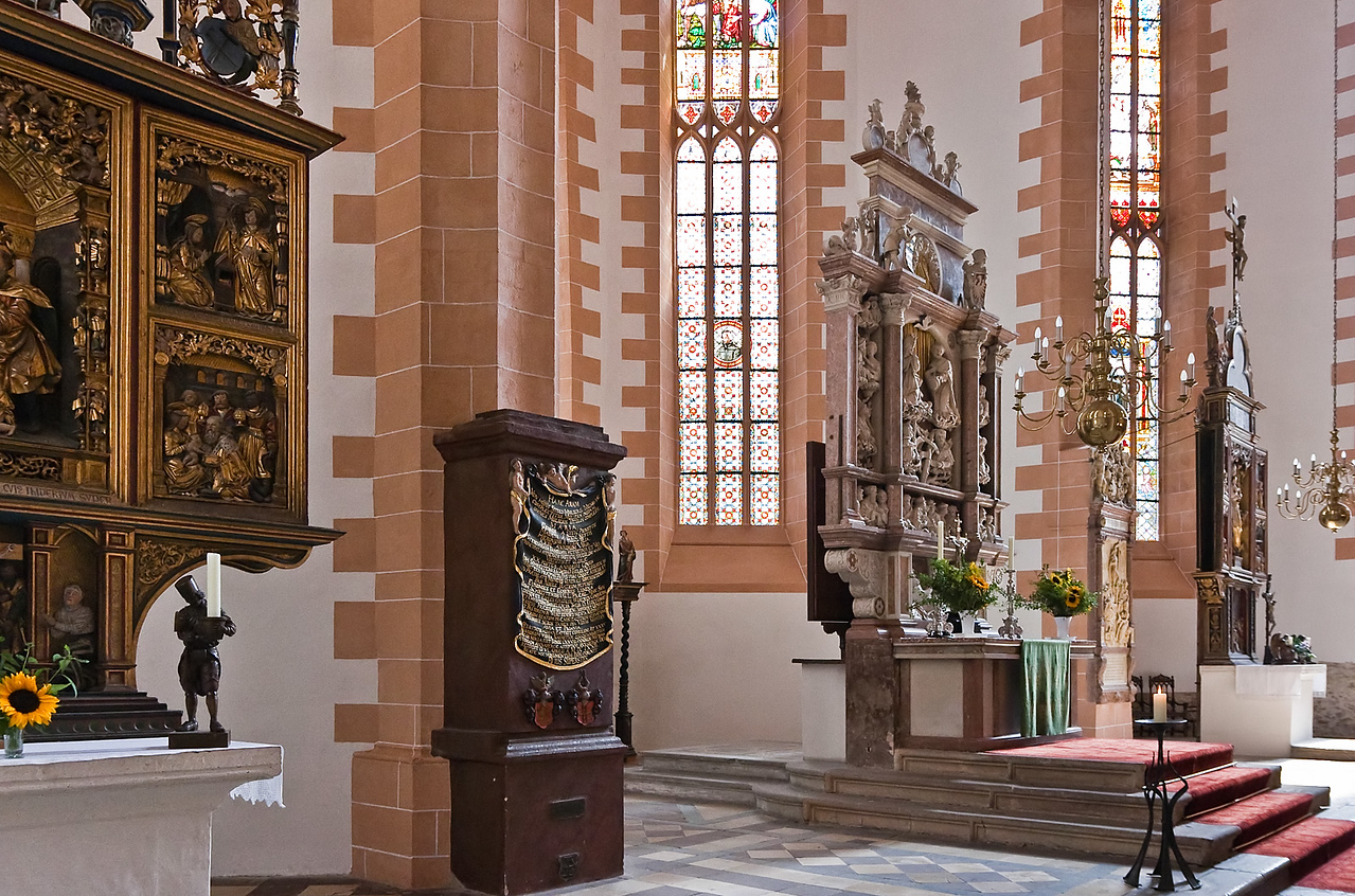 Annaberg, Sankt Annen, Chor