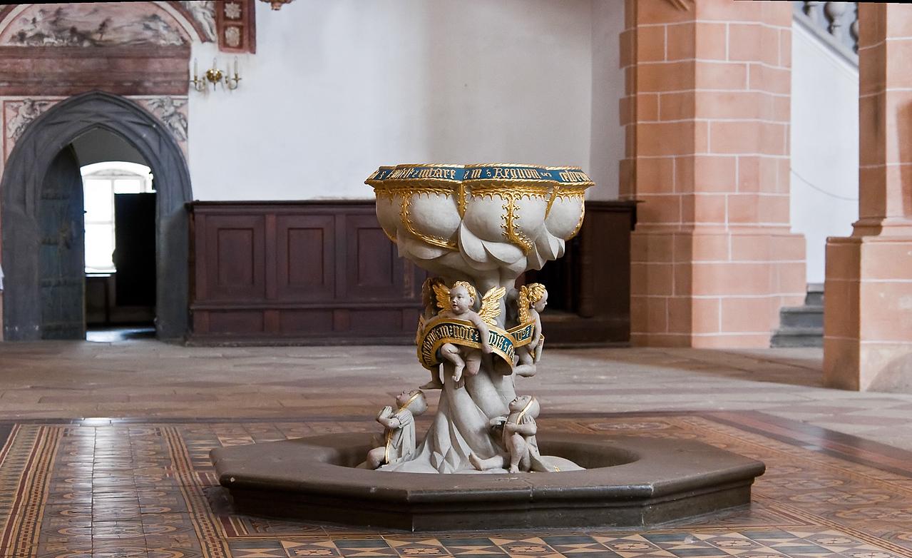 Annaberg, Sankt Annen, Taufe (Meister H.W., 1515, aus Chemnitz)