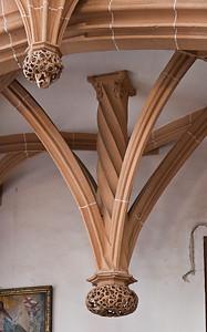 Annaberg, Sankt Annen, hängender Schlussstein