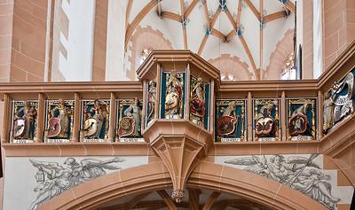 Annaberg, Sankt Annen, Empore (Franz Maidburg)