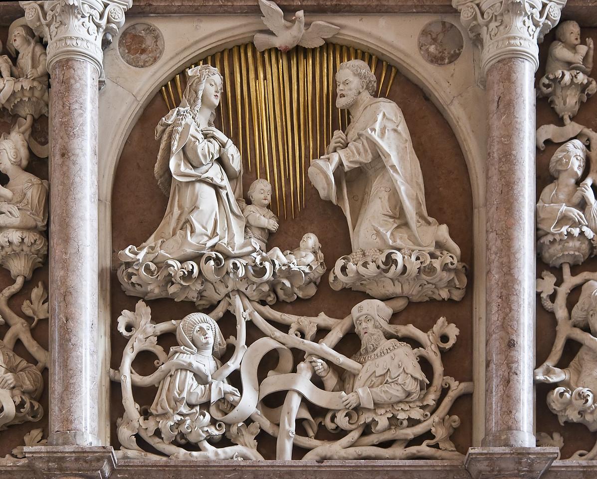 Annaberg, Sankt Annen, Hauptaltar (Adolf Daucher 1522)