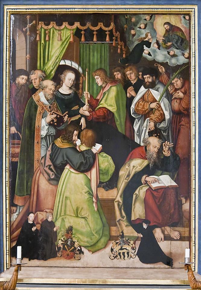 Annaberg, Sankt Annen, Pflockscheraltar (Chranachschüler, 1521)