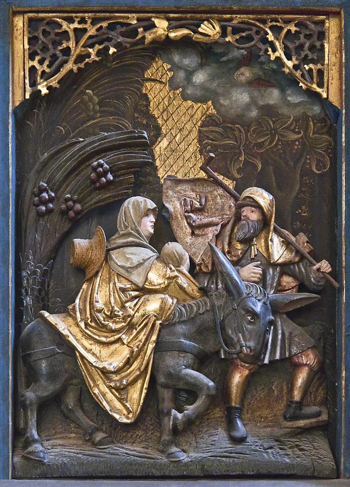 Annaberg, Sankt Annen, Bäckeraltar (Christoph Walter I, 1516)