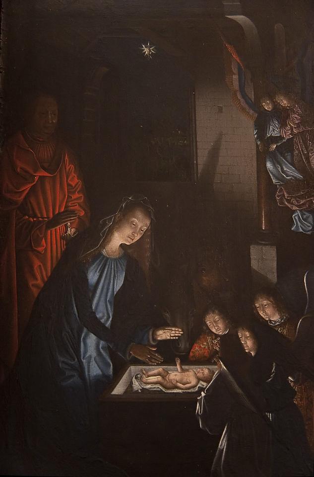Annaberg, Sankt Annen, Kopie der Hlg. Nacht von Hugo van der Goes (Niederlande, M. Sittow?)