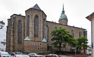 Annaberg, Sankt Annen, außen