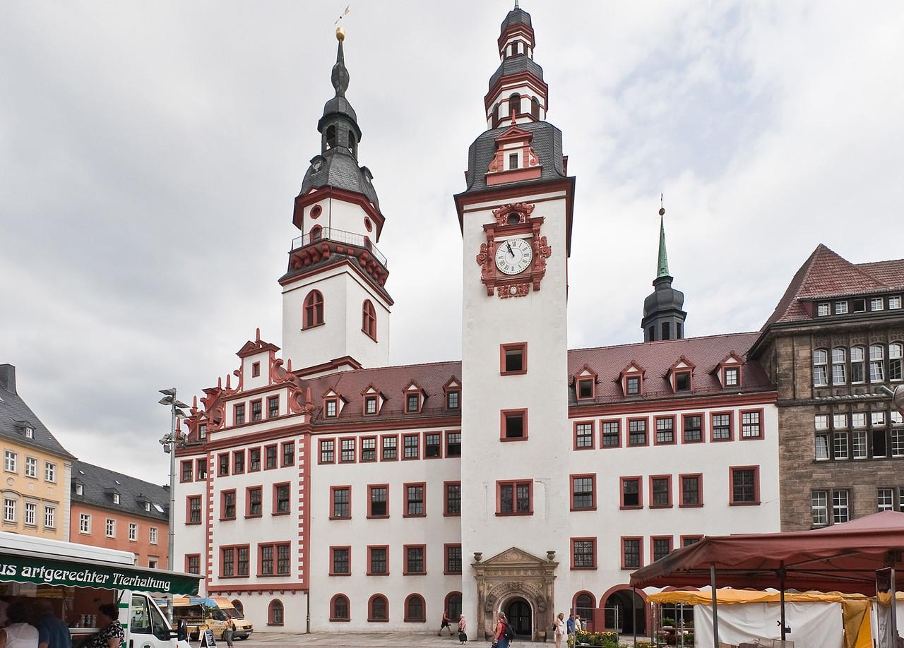 Chemnitz, altes Rathaus (1498)
