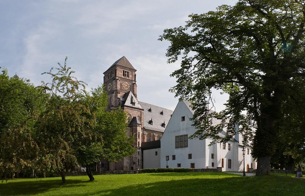 Chemnitz, Schlosskirche und ehem. Benediktinerkloster