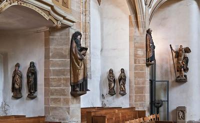 Freiberg, Dom. Skulpturen