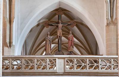 Freiberg, Dom. Triumpfkreuz (1230)