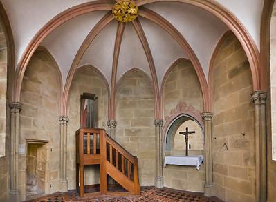 Meißen, Dom. Johanneskapelle über Achteckbau