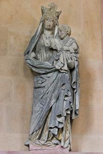 Meißen, Dom. Achteckbau: Maria (Naumburger Meister, um 1270)