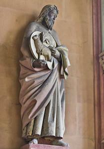 Meißen, Dom. Achteckbau: Johannes d.T. (Naumburger Meister, um 1270)