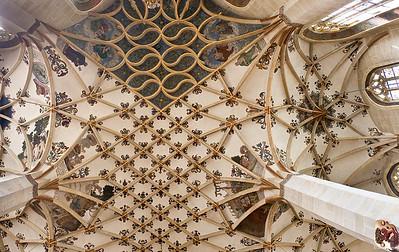 Pirna, St. Marien, Gewölbe im Chor