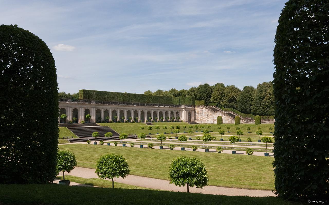 Barockgarten Großsedlitz, unteres Orangerieparterre (Heidenau)
