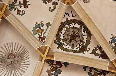 Pirna, St. Marien, Lutherrose