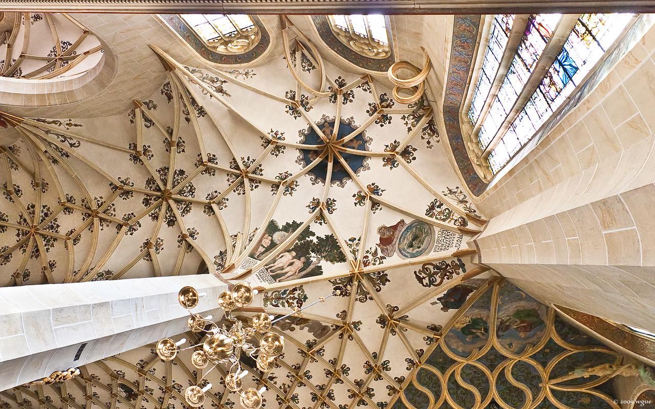 Pirna, St. Marien, Gewölbe im SO-Chor