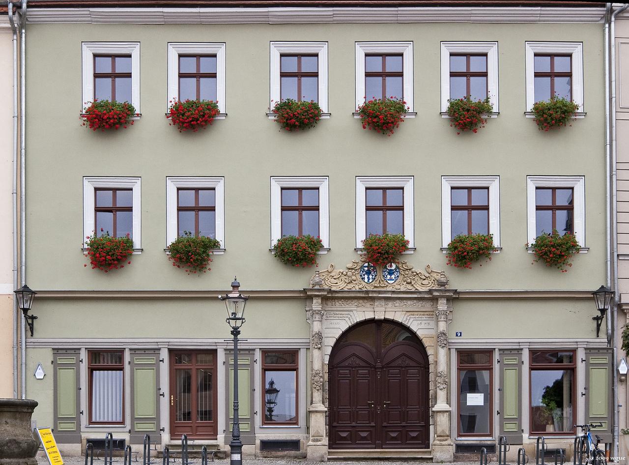 Pirna, Volkamerhaus Am Markt 9