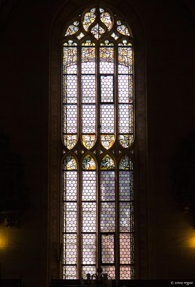 Pirna, St. Marien, Südfenster