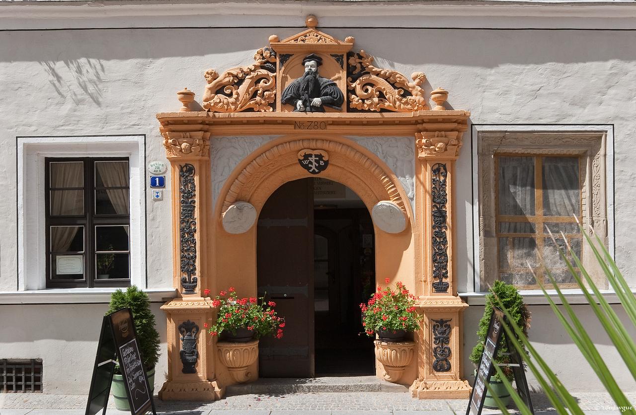 Pirna, Blechschmidthaus, Niedere Burgstraße 1 (1544)