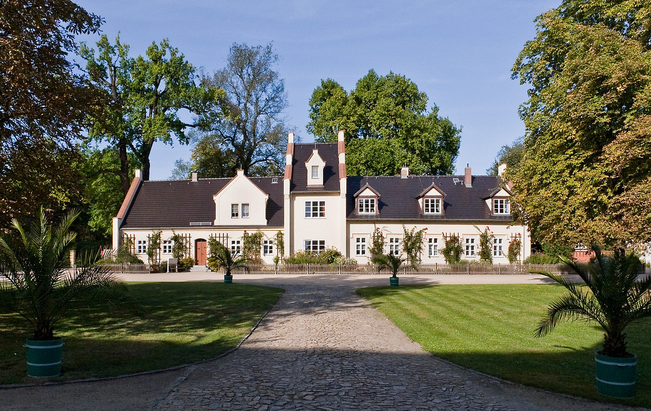 Muskau, Unterpark, Schlossvorwerk