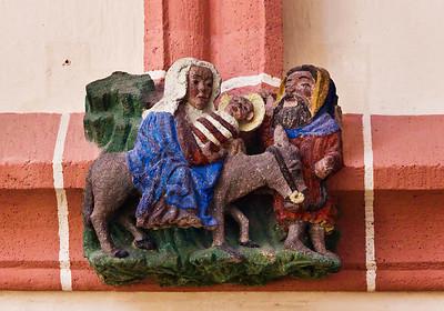 Rochlitz, Kunigundenkirche. Flucht nach Ägypten
