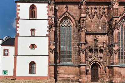 Rochlitz, Kunigundenkirche von Süden
