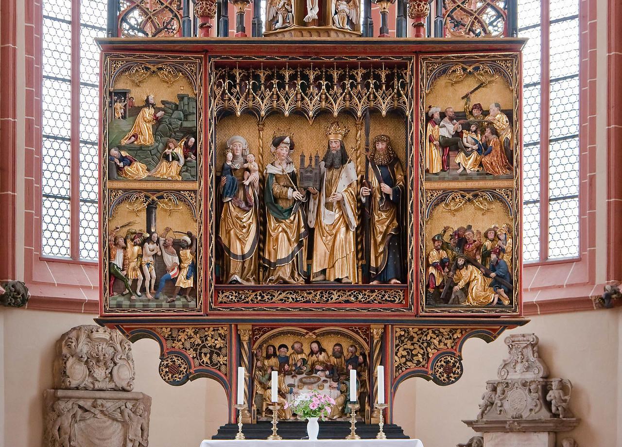 Rochlitz, Kunigundenkirche. Hochaltar (Philipp Koch?, 1513)