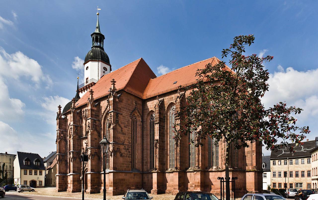 Rochlitz, Kunigundenkirche von Südost