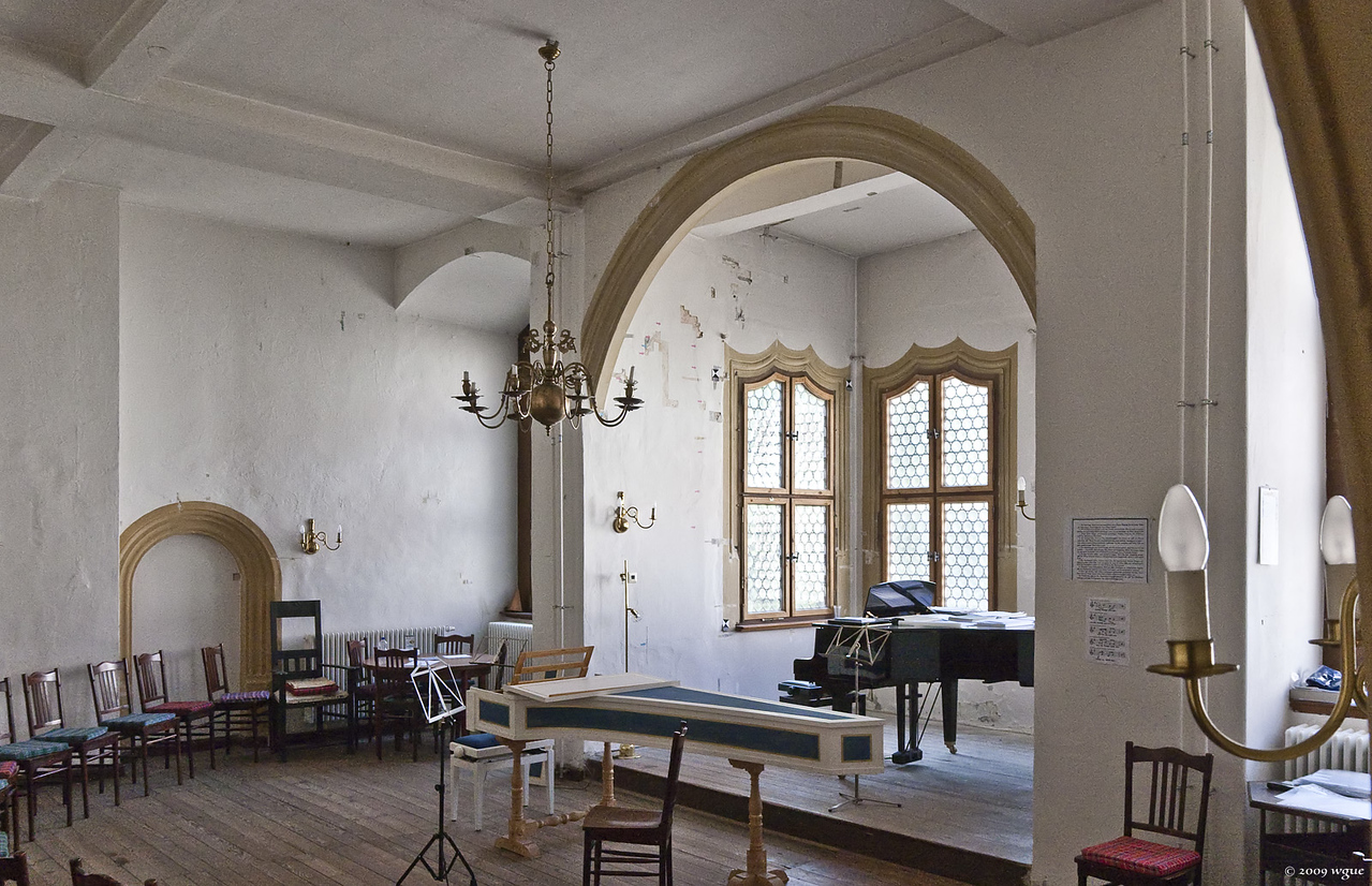 Torgau, Schloss Hartenfels, Schlosskapelle, Raum zum Schönen Erker (1544)