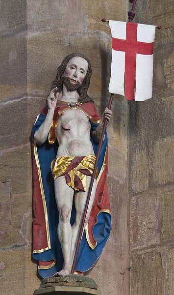 Peter Breuer: Auferstandener Christus, Zwickau, Katharinenkirche (1498)