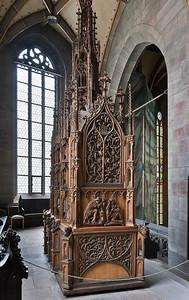 Zwickau, St. Marien, Heiliges Grab von Michael Heuffner (1507)