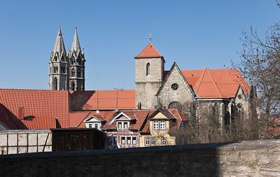 Arnstadt, Blick auf Liebfrauenkirche