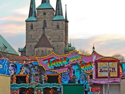 Erfurt, Rummel mit Severikirche