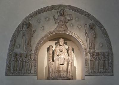 Erfurt, Dom, Stuckmadonna (1160)