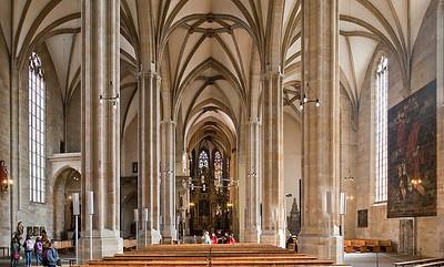 Erfurt, Dom, Blick nach Osten