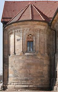 Erfurt, Peterskirche, Apsis des Südquerschiffs