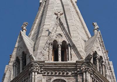 Mühlhausen, Blasiuskirche, Südturm, Detail