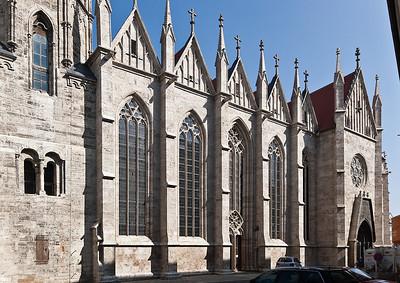 Mühlhausen, Blasiuskirche, Südseite