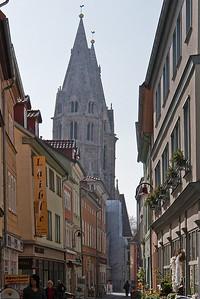 Mühlhausen, Blick auf Blasiuskirche
